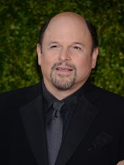 Jason Alexander arrives at the 69th annual Tony Awards at Radio City Music Hall on Sunday, June 7, 2015, in New York.