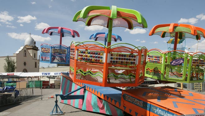 The annual Ysleta Mission Festival features carnival rides, live music, food and more beginning Friday through Sunday at Our Lady of Mt. Carmel Church, 131 S. Zaragoza.