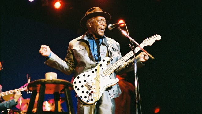 Legendary Blues guitarist Buddy Guy will play Taft Theater in April.