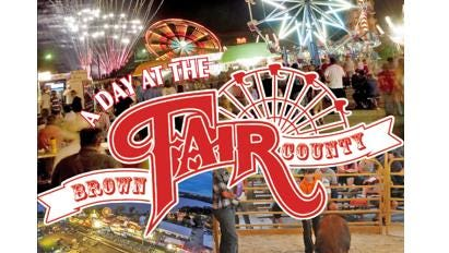 Brown County Fair logo