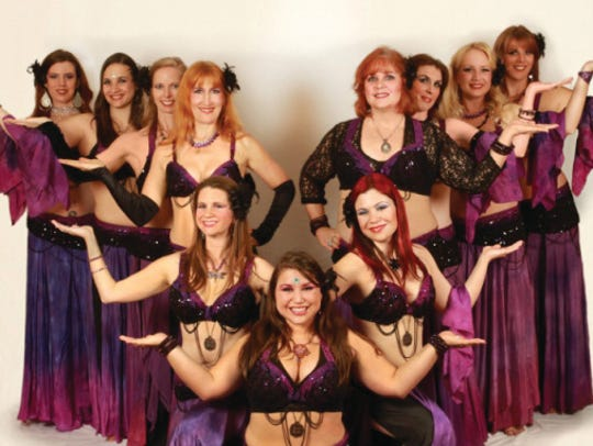 Aubergine Bell Dance Troupe will perform with the York