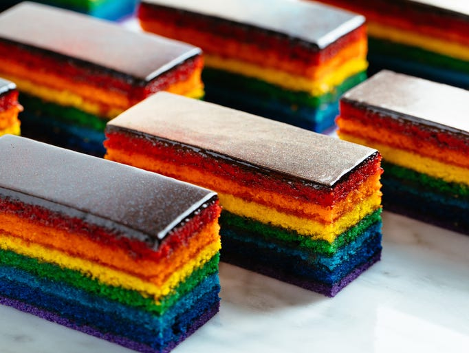 Rainbow Cake Bakery Chef