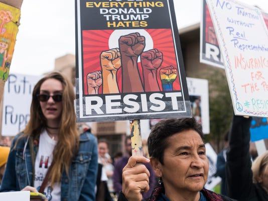Arizona Trump protests