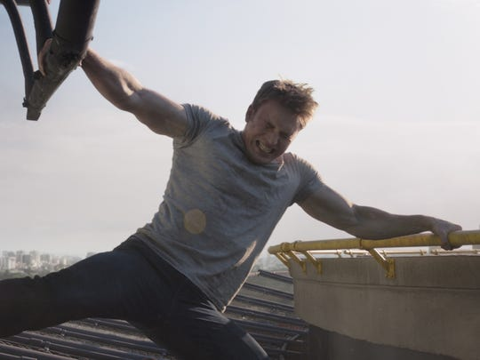 Even out of the supherhero threads, Steve Rogers (Chris