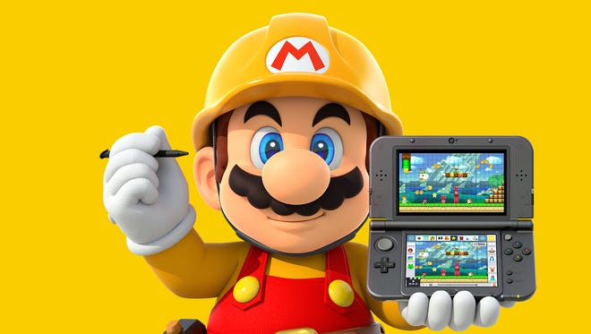Super Mario Maker for Nintendo 3DS.