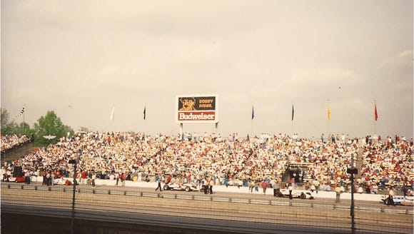 The Indianapolis Motor Speedway in 1992.