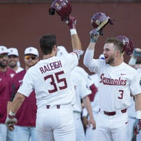 Long balls carry No. 18 Florida State to blowout of Stetson