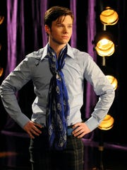 Kurt (Chris Colfer) struggles with his identity in