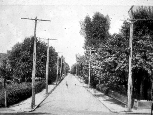 Chestnut St looking east from Charlotte St 1910.jpg