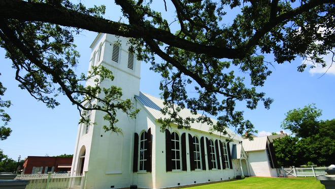 Old Christ Church in downtown Pensacola