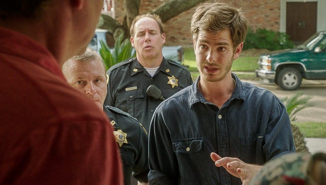 Andrew Garfield plays Dennis Nash, a morally conflicted man, in '99 Homes.'