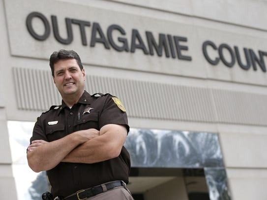 Outagamie County Sheriff Brad Gehring