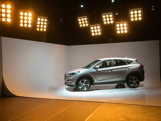 World Premier Of Hyundai Motor Co.'s New Tucson SUV Automobile