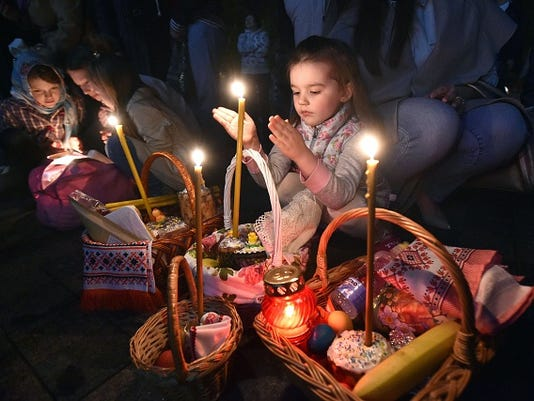 UKRAINE-RELIGION-ORTHODOX-EASTER