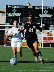 Audriana Chenault logged in 1,338 minutes in 18 games played while scoring four goals her senior year.