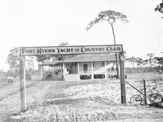 Fort Myers Yacht and Country Club on what now is Terry Park.