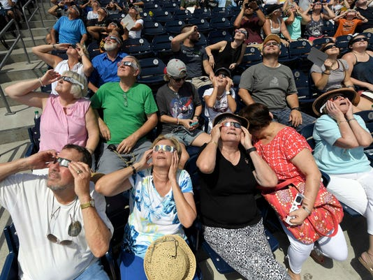 USP NEWS: 2017 AMERICAN SOLAR ECLIPSE A USA TN