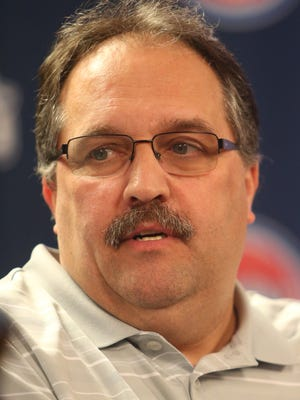Pistons coach and president of basketball operations Stan Van Gundy