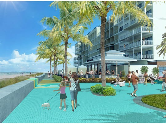 Conceptual renderings of the new Grand Resorts.
