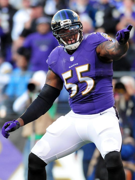 Ravens Hope To Return To Form With Terrell Suggs Steve