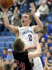 Senior guard Blake Thomson will be one of the keys to the Cedar Crest boys basketball team's quest to regain the Lancaster-Lebanon Section 1 title.