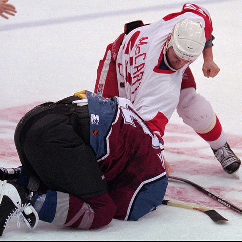 20 years later: Red Wings vs. Avalanche fight night is still the best