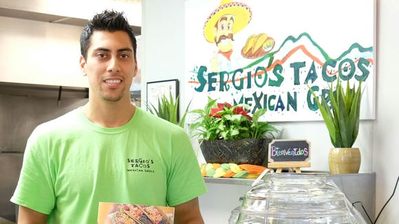 Ashlin Romero opened Sergio's Tacos Mexican Grill in