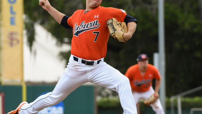 Keegan Thompson has a season-high nine strikeouts in a 7-4 win over Central Florida in a NCAA Baseball Regional Friday, June 2, 2017, in Tallahassee, Fla.