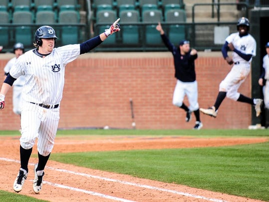 Auburn single a baseball