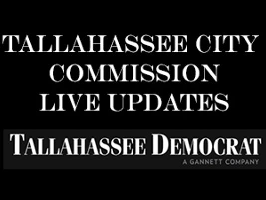 Tallahassee city commission live blog