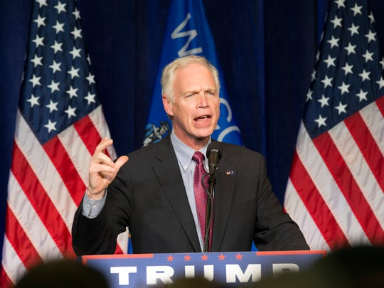 Sen. Ron Johnson discussed concerns about a Ukraine pressure campaign by phone with President Trump in August.