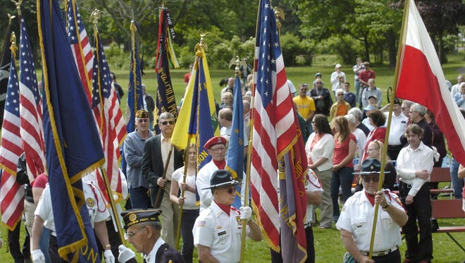 Local veterans organizations will again take part in a Memorial Day ceremony at Pfiffner Pioneer Park in Stevens Point on Monday.