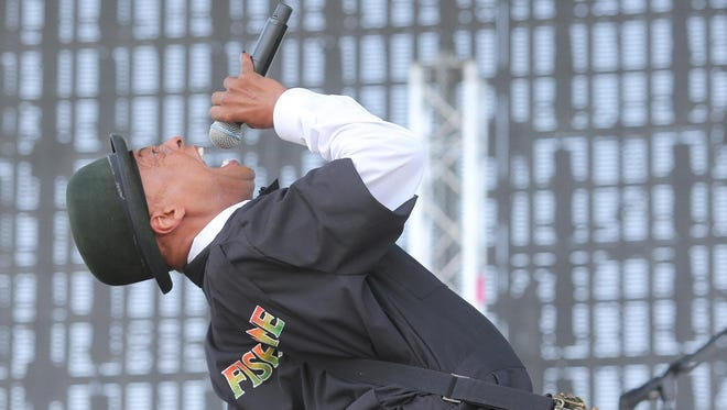 Fishbone singer Angelo Moore, seen at the Coachella festival in 2014.