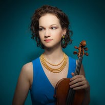 Violinist Hahn moves audience with Taft performance