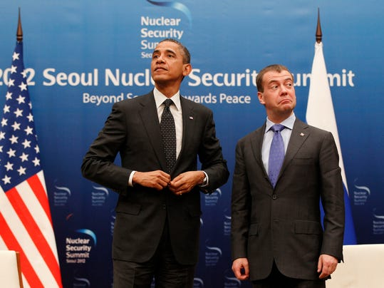 AP APTOPIX Obama US Russia Nuclear Summit