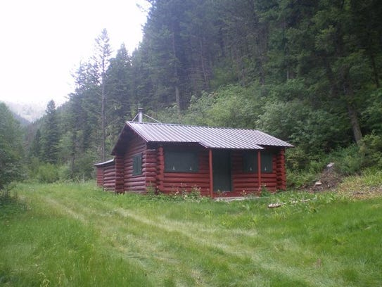 The Miller Cabin was restored to look almost exactly