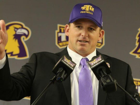 Tony Marable / Tennessee Tech Marcus Satterfield's Golden Eagles begin spring practice on March 15. Marcus Satterfield's Golden Eagles begin spring practice on March 15.