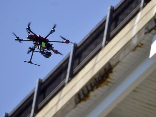 AP EXCHANGE DRONES POLICE A USA CT