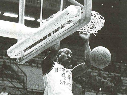 FILE - Former Indiana State standout John Sherman Williams.