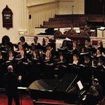 Mary Baldwin College choir presents spring concert on April 7 at First Presbyterian Church in Staunton.