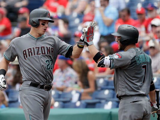Jake Lamb, Welington Castillo