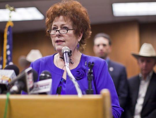 State Sen. Sylvia Allen.