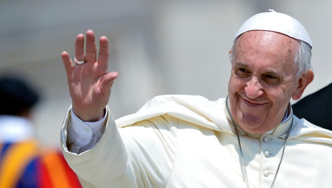 Pope Francis on Thursday is expected to take a hard-line stance on global warming during his environment encyclical.