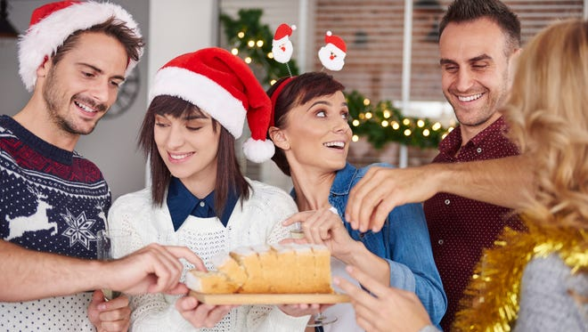 Take and try a piece of Christmas cake