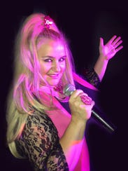 Singer Colleen Leavy of Electric Lipstick