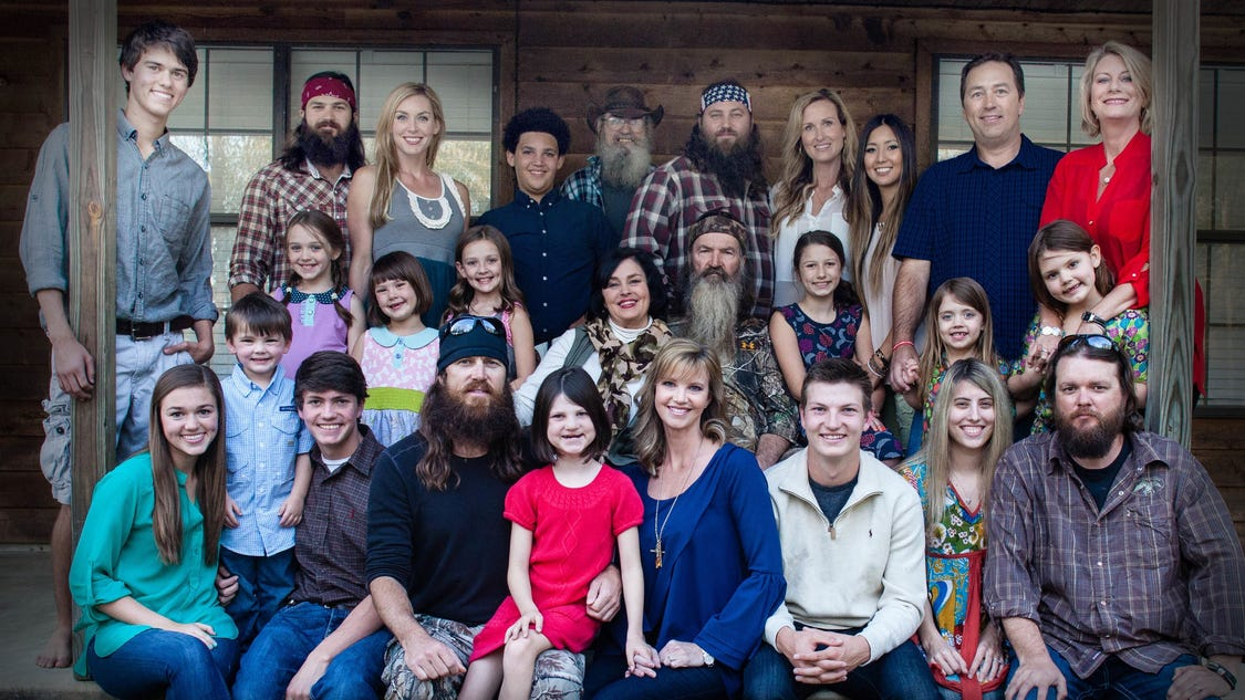 story duck dynasty family made into musical