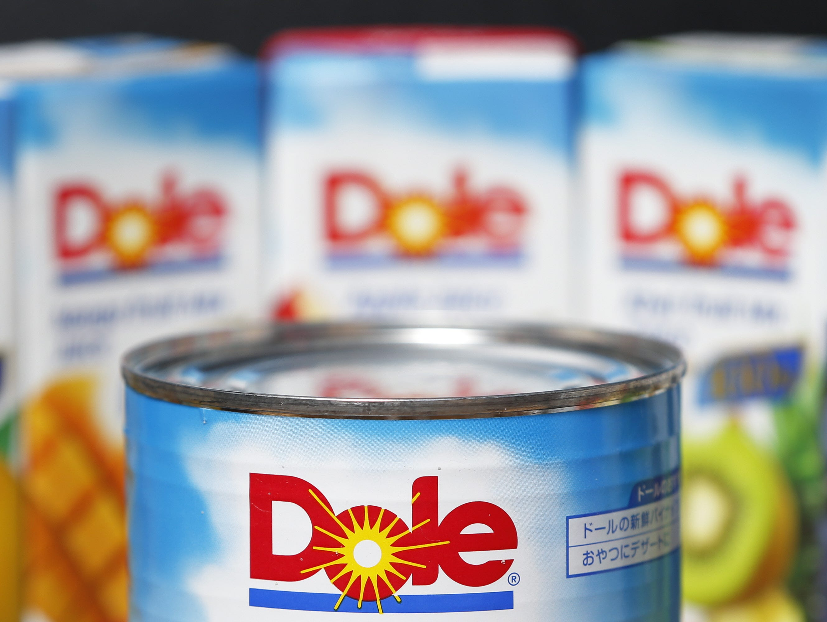 Dole Food pineapple can