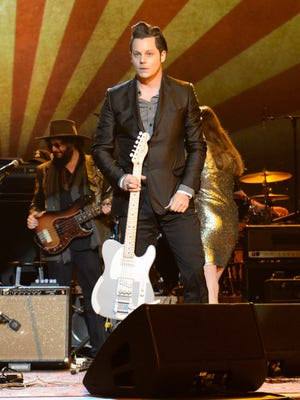 Jack White performs at the MusiCares 2015 Person of the Year Gala on Feb. 6 in Los Angeles.