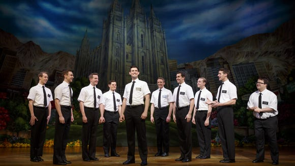 """The Book of Mormon"" is at the Fox Cities Performing Arts Center in Appleton through Sunday."