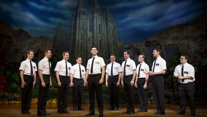 """""""The Book of Mormon"""" is at the Fox Cities Performing Arts Center in Appleton through Sunday."""